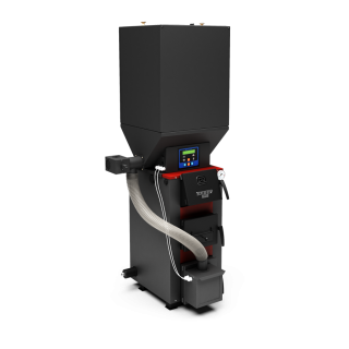 Отопительный котел Куппер ПРО-22 (2018) с пеллетной горелкой АПГ25 (2018)
