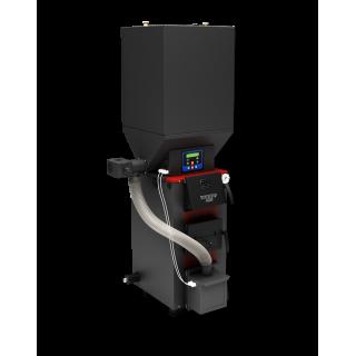 Отопительный котел Куппер ПРО-22 (2018) с пеллетной горелкой АПГ25 (2017)