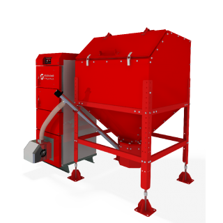 Пеллетный автоматический котел HT Daspell Duo (15 кВт)