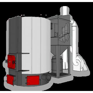 Котёл высокой мощности HT MegaBio by Ventil (1160 кВт)